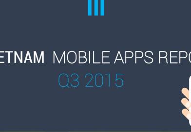 Báo cáo thị trường ứng dụng mobile Việt Nam Quý 3/2015