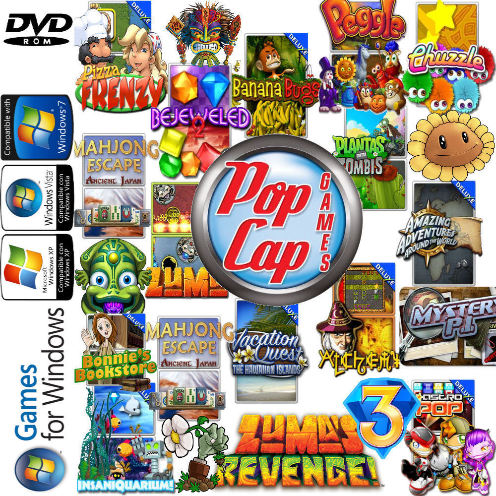 Popcap all games free download.