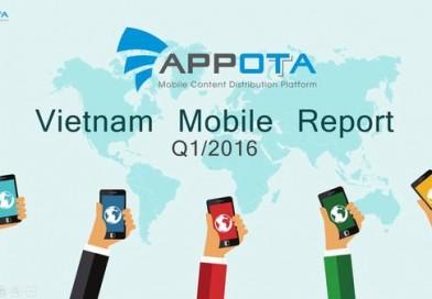 Báo cáo thị trường mobile Việt Nam Q1-2016
